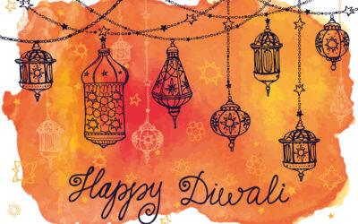Diwali Celebration – Saturday, November 2, 2019 5-8:30pm