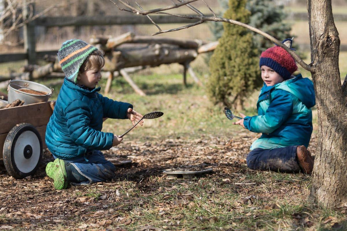 Outdoor Play Waldorf Preschool